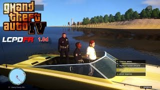 Grand Theft Auto IV - LCPDFR - 1.0D - EPiSODE 1 - BOAT PATROL - (NYPD FORD TAURUS) I7 5820K GTX 980