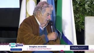 IMAGINADOR ESPECIAL  Pepe Mujica Imagina en acción