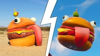 Fortnite SECRET BURGER discovered! *Season 5 Easter Egg!*