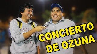 ENTREVISTAS EN CONCIERTO DE OZUNA |BROMAS| |KREIZIVOY|