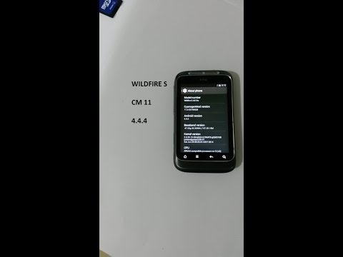 WILDFIRE S Jelly Beans UPDATED ![STABLE ROM] 4.4.4 CM 11