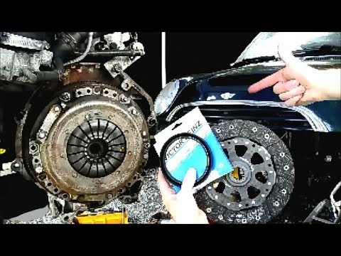 Clutch And Rear Main Seal Replacement Mini Cooper S Non S Youtube