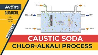 Caustic Soda | Sodium Hydroxide class 10 | Chlor-Alkali process | Class 10 Science