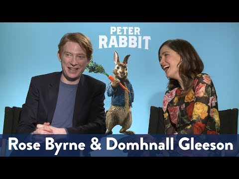 Rose Byrne & Domhnall Gleenson's Pick Up Lines  KiddNation