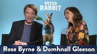 Rose Byrne & Domhnall Gleenson's Pick Up Lines | KiddNation
