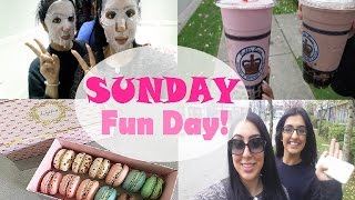 VLOG | Macarons, Face Masks & Bubble Tea | keepingupwithmona