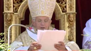 Benediktas XVI: Prisikėlęs Jėzus -- mūsų gyvenimo viltis