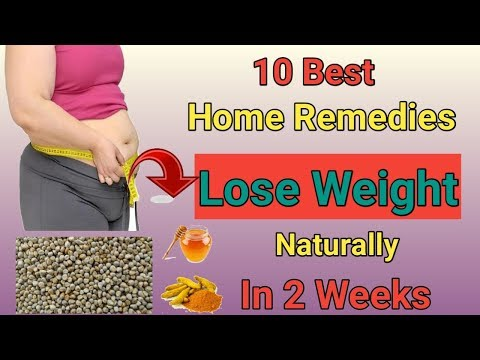 10 Best Home Remedies Lose Weight Naturally In 2 Weeks In Hindi