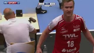 Die Eulen Ludwigshafen HC Erlangen Highlights DKB Handball Bundesliga  201718