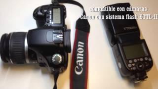 GODOX TT685C- Flash para Canon