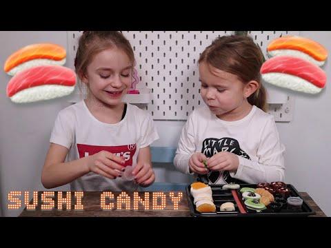 Candy Sushi TASTE TEST! med Clara