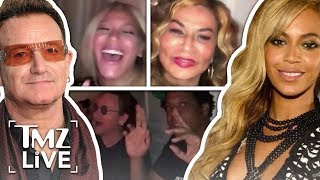 Baixar Beyonce & Jay-Z: Sing-Along With Bono! | TMZ Live