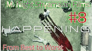 The Happening - M. Night Shyamalan Films | From Best To Worst - Spoiler Review | Movie Knight!