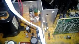 Falla Vertical TV Philips 21PT9469/55 (P...
