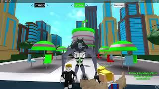 Ben 10 Dört Kol Olduk ve Özel Güçlere Baktık! - Panda ile Roblox