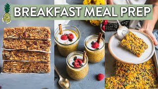 Fall Meal Prep: Breakfast Edition! | Easy Vegan Recipes