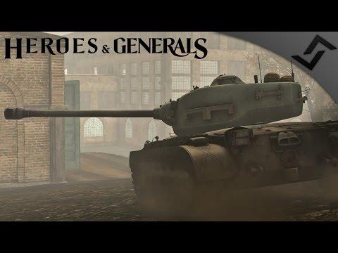 90mm Pershing Power - Heroes and Generals - American Heavy Tank Gameplay