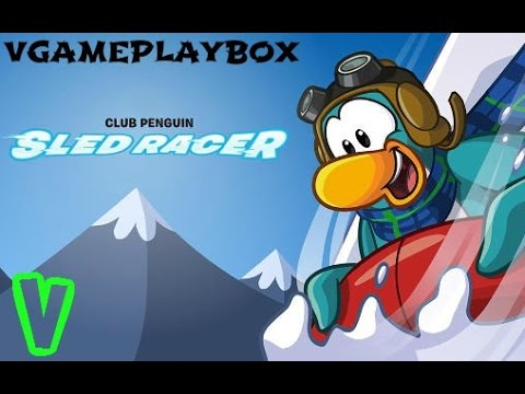 club-penguin-sled-racer-(by-disney)-ios-/-android-gameplay-video