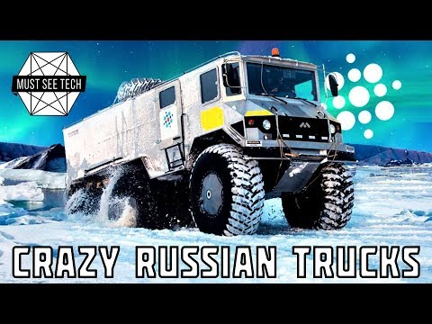 7 Crazy Russian Trucks and Amphibious Off-Road Vehicles You Must See