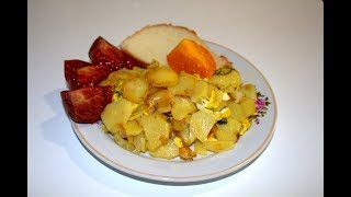 Жареная картошка на сале, жареный картофель, РЕЦЕПТЫ, РЕЦЕПТ КАРТОШКИ