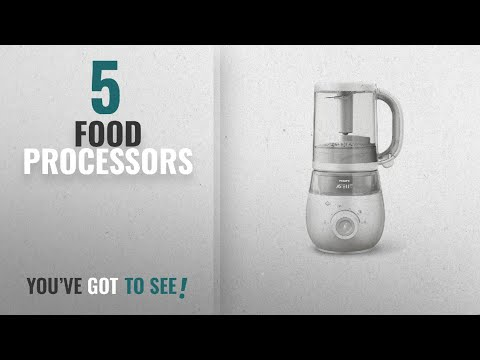 Top 10 Food Processors [2018]: Philips Avent 4-in-1 Healthy Baby Food Maker