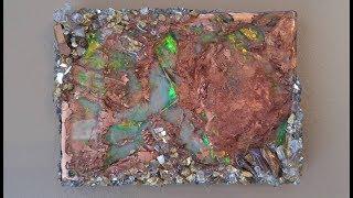 #37- Creating an Opal Resin Geode- On a Budget!