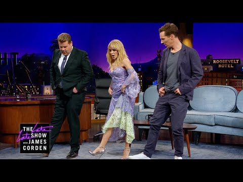 Kylie Minogue Teaches Benedict Cumberbatch Line Dancing