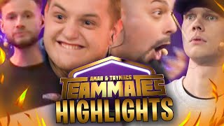 🔥🤩CHAMPION & MVP bei TEAMMATES! | Show HIGHLIGHTS mit @Amar @unsympathischTV @inscope21