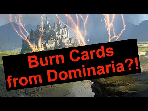 "Are there Modern Burn Cards from Dominaria?! (Andrew ""Day 2"" Dryden)"