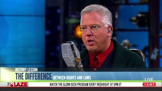 Glenn Beck strikes back at James Kirk Wall over Rights