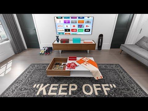 Modern Hypebeast Living Room Setup Tour!