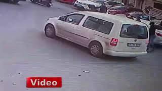 Şişli'de dehşet anları