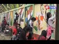 Students of Salt Brook Academy volunteers to beautify Dibrugarh with colourful wall paintings