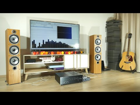 Monitor Audio BR6 + Yamaha A-S500 Sound & Bass Excursion Test