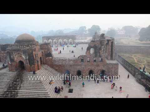 Ashoka Pillar | Feroz Shah Kotla Fort in Delhi