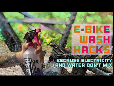 Bike Hacks - How to wash an E bike
