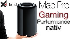 Mac Pro 2013 Gaming Performance nativ (StarCraft II & Diablo III)