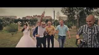 Клип Бродяга. Свадьба Лены и Димы 04.07.2014