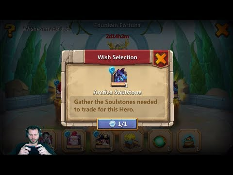 JT's Free 2 Play Revitalize Talent Decision Made Lucky Fountian Fortune Castle Clash