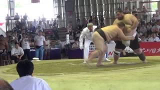 Чемпионат мира по Сумо 2015 г.Осака,Япония. (BUL vs GEO)