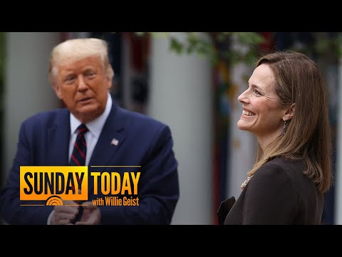 Democrats Should Focus On Barrett's Position On Issues Important To Swing Voters: Chuck Todd | TODAY