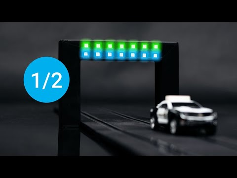 Build a lap counter for a slot car track