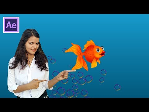 How To Animate Fish By Puppet Pin Tool Easy Tutorial thumbnail