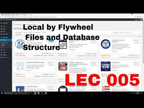 Local by Flywheel Files and Database Structure|WordPress Tutorial 005 thumbnail
