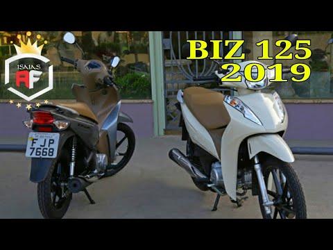 Nova Honda Biz 125 2019 Novas Cores Preço E Especificações Youtube