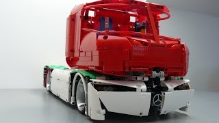 Lego Technic Mercedes-Benz Truck of the Future 2045 by dokludi