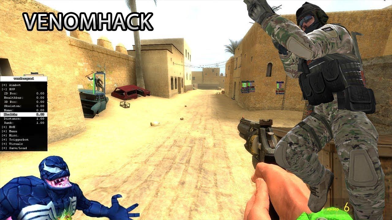 GMOD HACKS: Venom hack by Mr Squid