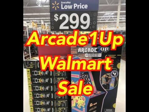 Arcade1Up Ms PAC MAN On Sale Walmart Arcade 1Up from rarecoolitems