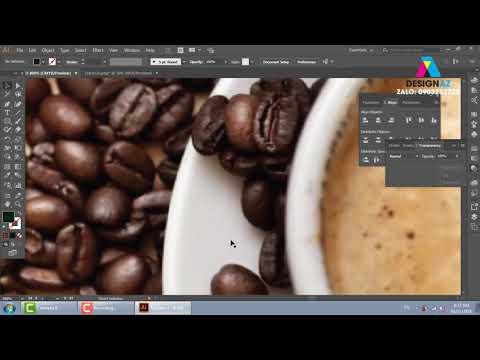 Cách dàn trang trong illustrator, thiết kế menu nhà hàng, học thiết kế đồ họa, học đồ họa