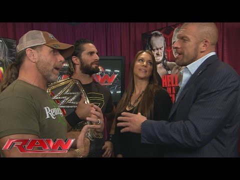 Shawn Michaels reveals Dean Ambrose and Roman Reigns
